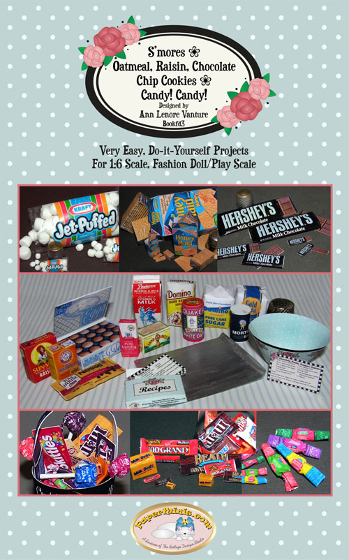 1:6 scale DIY kits for Cookies and Candy