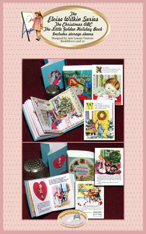 Eloise Wilkin childrens books set 6